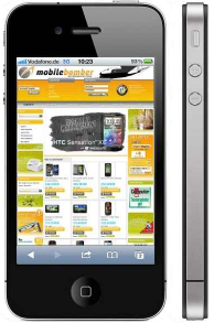[ebay Wow] Apple iPhone 4S 16GB Smartphone in Schwarz inkl. Versand 599€