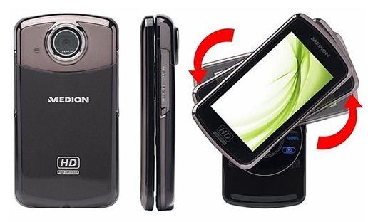 [Wieder da!] MEDION P47350 Full HD Camcorder (5MP, HDMI, 3,5 Display, USB) für nur 39,99€ inkl. Lieferung