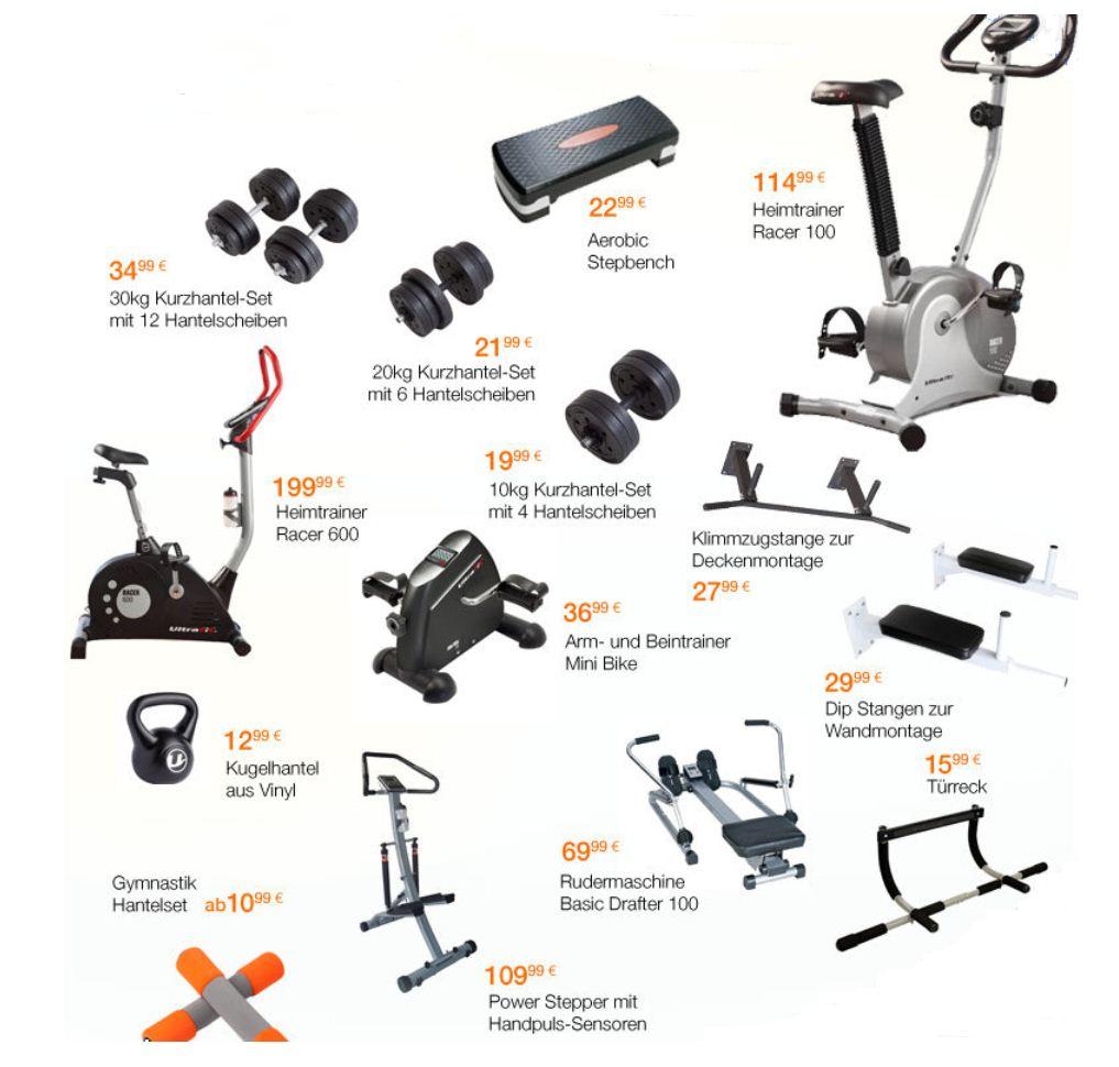 [Amazon] Ultrasport Aktion: Weg mit den Speck! Fitness Angebote mit bis zu 70% Rabatt