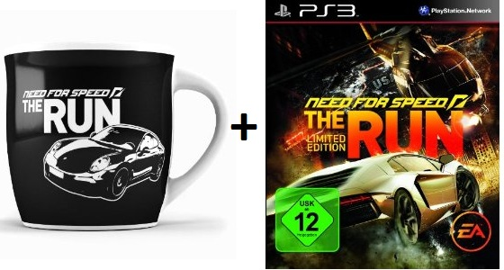 [Game Deal des Tages] NFS The Run + NFS Tasse ab 29,97€ inkl. Versand