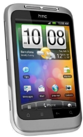 [Amazon WHD] Android Smartphone: HTC Wildfire S mit 5MP Kamera, 8,1cm Touchscreen und GPS, WLAN inkl. Versand 115,50€