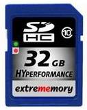 [Meinpaket] SDHC Karte: Extrememory 32GB, HyPerfomance (Class10) inkl. Versand nur 24,98€