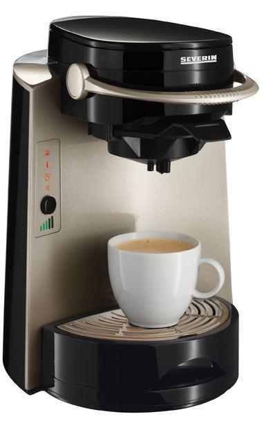 [ebay Wow] 3 in 1 Kaffeepadmaschine: Severin KA 4566, Fino Multi mit 1400 Watt, inkl. Versand 39,99€