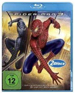 [Amazon] Blu ray: Spiderman 3 (2Disk) 7,03€ inkl. Versand