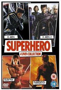 [play.com] Superhero DVD Box: X Men / X Men 2 / Daredevil Directors Cut / Elektra (4 DVDs) für nur 2,99€ inkl. Versand