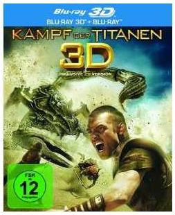 [Amazon] Blu rays: Kampf der Titanen 3D + 2D Version und Bank Job