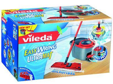 [ebay Wow] Vileda: Easywring Ultramat Set (Bodenwischer mit Eimer und PowerSchleuder) inkl. Versand 39,99€