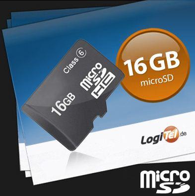 [eBay] MicroSD Speicherkarte mit 16 GB (Class 4) für nur 9,99€ inkl. Versand (Vergleich: 16€)