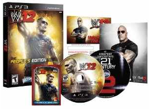 [Amazon] Game: World Wrestling Entertainment 12 feat.The Rock,für Xbox und PS3 inkl. Versand 39,75€