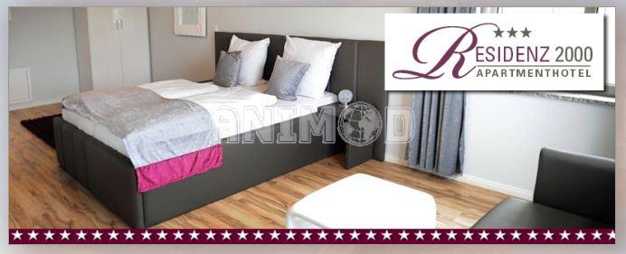 Ebay wow animod hotelgutschein 2 personen 2 for Designhotel residenz 2000 berlin