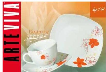 [Amazon] Kaffee und Tafelservice: ARTE VIVA, Tosca, 30 teilig, Porzellan, Design by Emilio Bilinni ink. Versand 38,12€