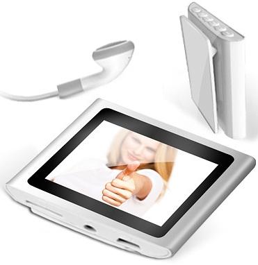 Mini Musik  und Videoplayer (4GB & SD Slot) + Gratis Artikel für 19,95€ (zzgl. Versand)
