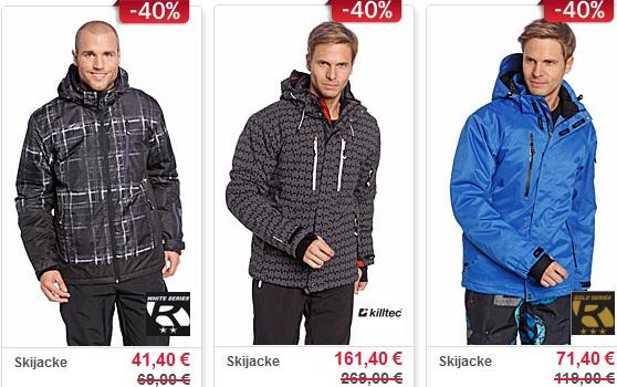 [C&A] 40% Rabatt auf die gesamte Ski Kollektion   nur online und nur bis zum 06.02.2012