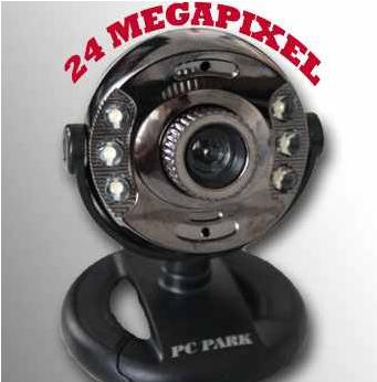 [ebay] USB Webcam: 24 Megapixel mit Mikrofon für MSN, Yahoo und Skype, inkl. Versand 11,94€