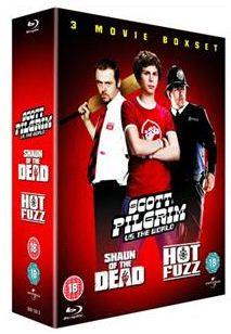 [play.com] Scott Pilgrim Vs. The World / Hot Fuzz / Shaun Of The Dead (3 Discs) [Blu ray] für nur 10,99€ inkl. Versand