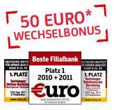 Update! Kostenloses Girokonto plus 50€ Geschenkt bei der HypoVereinsbank