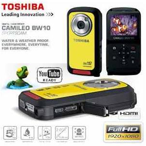 [iBOOD] FullHD Digi Sportcam Toshiba Camileo: Wetter  und Wasserfest inkl. Versand 75,90€