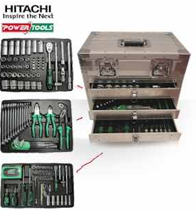 [iBOOD] 3 lagiger Werkzeugkasten: Hitachi professionelles Power Case System M inkl. Versand 178,90€
