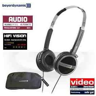 [iBOOD] faltbarer Kopfhörer: Beyerdynamic DTX 300p inkl. Versand 35,90€