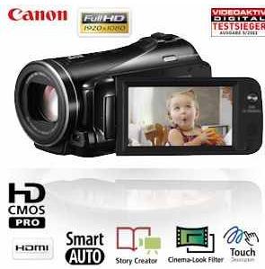 [iBOOD] Full HD Camcorder: Canon Legria mit 10 x HD Videoobjektiv, 16GB Dual Flash Memory inkl. Versand 345,90€