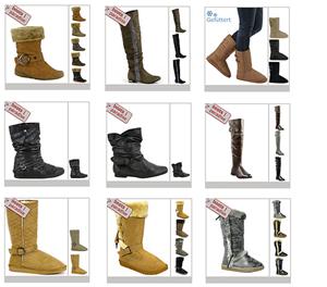 Viele verschiedene Damen Stiefel/Boots für je das Paar 6,90€ + 3,90€ Versand
