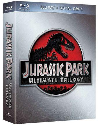 Jurassic Park Ultimate Trilogy als Blu Ray mit Ultraviolet Copies für nur 8,40€ inkl. Lieferung