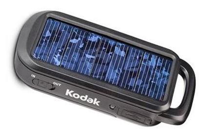 Kodak KS 100 C+2 Solar Ladegerät inkl. 2 Akkus (2100 mAh) für z.B. Handys, MP3 Player, usw. für nur 9,99€ inkl. Versand