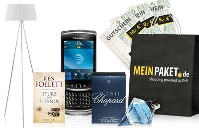 Schnäppchen durch 10€ meinpaket.de Gutschein (MBW nur 30€)