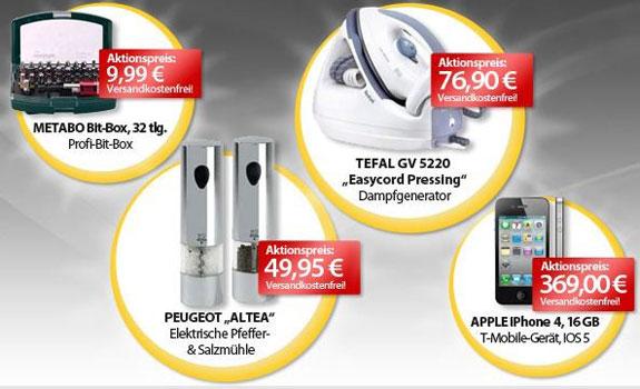 [meinpaket.de] Die OHAs zum Wochenende! Z.B. Apple iPhone 4 mit 16GB für 369€ (Vergleich: 446€)