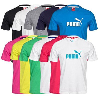 [eBay] Verschiedene Puma T Shirts für je nur 12,90€ inkl. Versand
