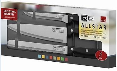 [Q des Tages!] CS Solingen Messerset 3 teilig nur 8,50€ inkl. Versand