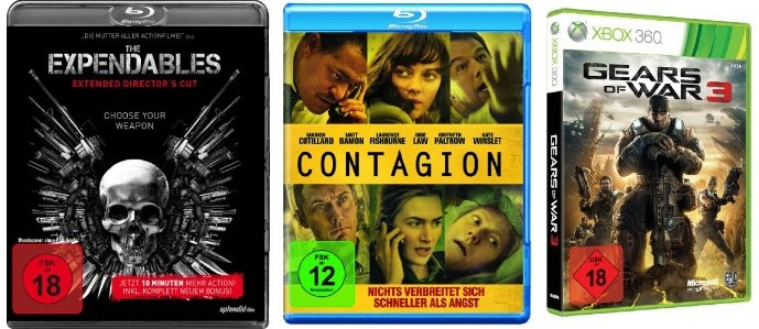 Reduzierte Games, Blu rays, DVDs (Konter auf das aktuelle Müller Angebot!)