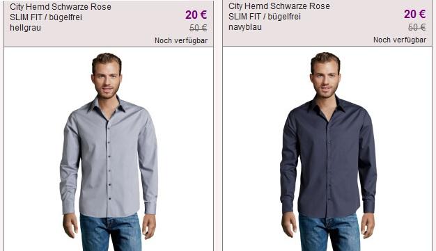 Seidensticker Ausverkauf bei vente privee (Herren Hemden schon ab 17€)