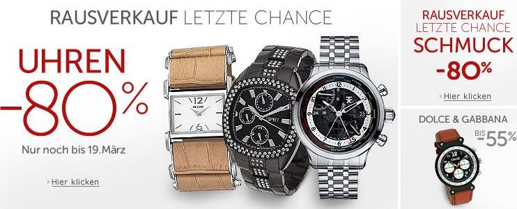 Markenuhren  Uhren-Sale] Amazon startet großen Uhren-Sale mit bis zu 80% Rabatt ...