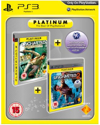 [Zavvi] Uncharted: Drakes Fortune & Uncharted 2: Among Thieves im Pack für PS3 nur 19,23€