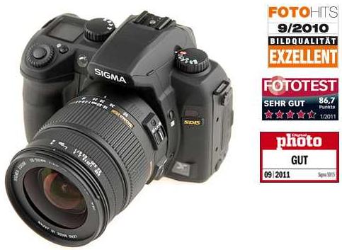 [ebay] SLR Digicam: Sigma SD15 und Objektiv Kit 18 50mm (2,8 4,5) inkl. Versand 379€
