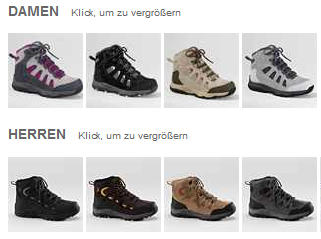 [ebay Wow] Damen und Herren Trekkingschuhe: Land´s End in verschiedenen Modellen, inkl. Versand 24,95€