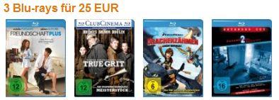 [Amazon] 3 Paramount Blu rays für nur 25€ inkl. Lieferung