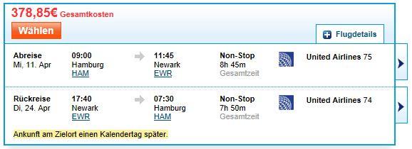 [Travel] Flugschnäppchen: Hamburg / Berlin Tegel / Stuttgart   New York (Hin  & Rückflug) ab 378€ (Economy)