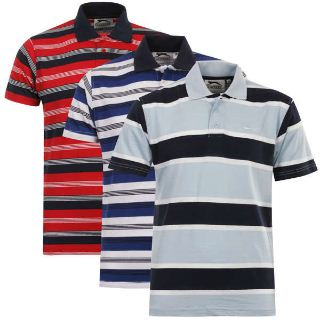 [Zavvi] 3er Pack Slazenger Mens Defiant Striped Polo Shirts für 19,08€ & Kickers Mens Isle Cable Knit für 16,69€