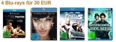 Amazon Konter! 4 Blu rays für 30€ inkl. Versand (z.B. Ohne Limit, Rango, Freundschaft Plus, Zombieland...uvm)