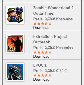 [Gratis] Tipp! Kostenloses für iPod, iPad und iPhone, Android und Kindle Heute!