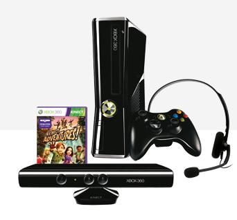 [Microsoft Store] Hammer Bundle: Xbox 360 250GB mit Kinect und Game nur 249,48€