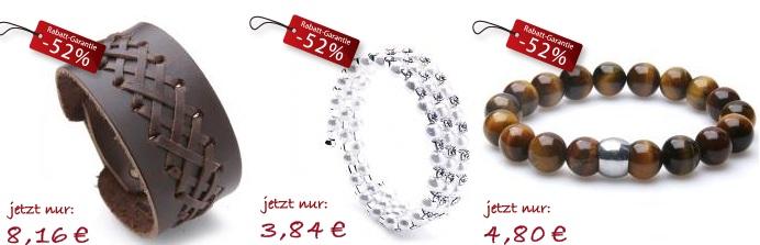 [Tipp!] 52% Rabatt auf alle Armbänder bei Silvity! (Armbänder ab 3,80€...etc.)