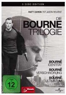 [Amazon] Die Bourne Trilogie: 3 DVDs für nur 8,98€ zuzügl. Versand