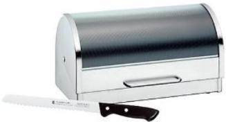 [Amazon] 2 teilliges WMF Set: Brotkasten & Brotmesser inkl. Versand nur 33,65€ (Vergleich 90€)