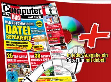 6x Computerbild mit DVD + iTunes Gutschein für 14,80€ + 10€ Gutschein