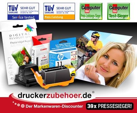 [DailyDeal] 16€ Druckerzubehoer.de Gutschein für 7€ ergattern!