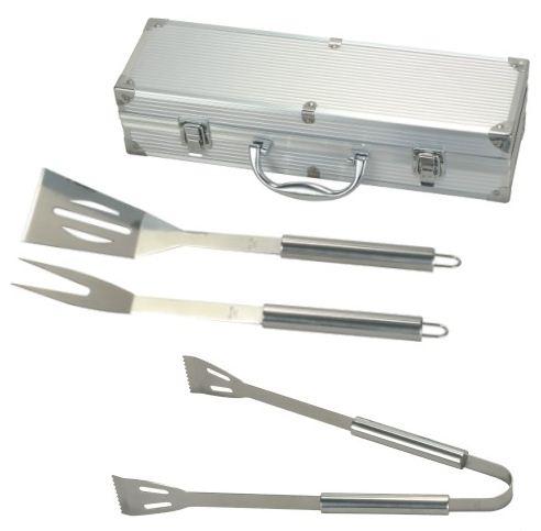 [eBay] Barbecue Grillbesteck aus Edelstahl im Koffer für nur 14,95€ inkl. Versand