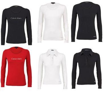 [eBay] Calvin Klein Damen Langarmshirt in versch. Farben für je nur 19,99€
